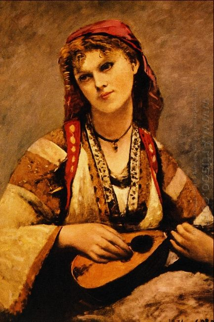 Christine Nilson Or The Bohemian With A Mandolin 1874