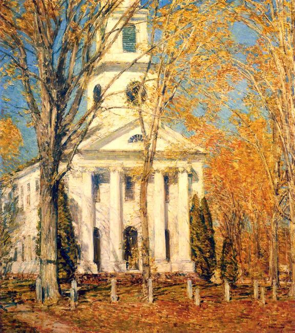 Church At Old Lyme 1