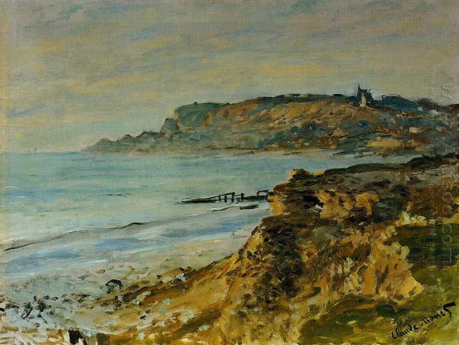 Cliff At Sainte Adresse
