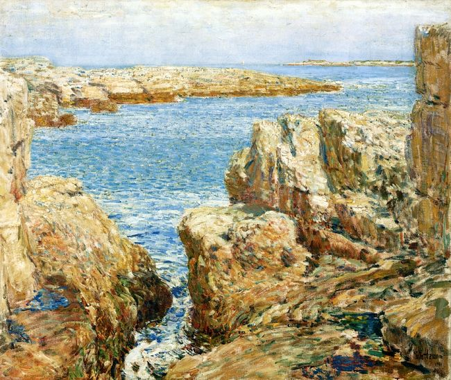Coast Scene Isles Of Shoals
