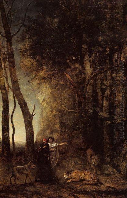 Dante And Virgil 1859