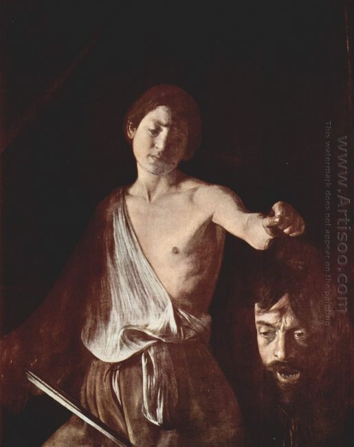David With The Head Of Goliath 1610