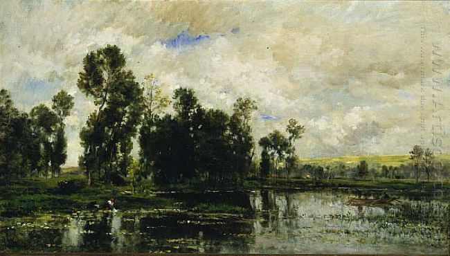 Edge Of The Pond 1873