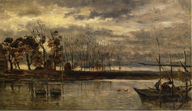 Eel Fishermen 1864