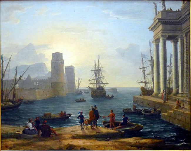 Embarkation Of Ulysses 1646