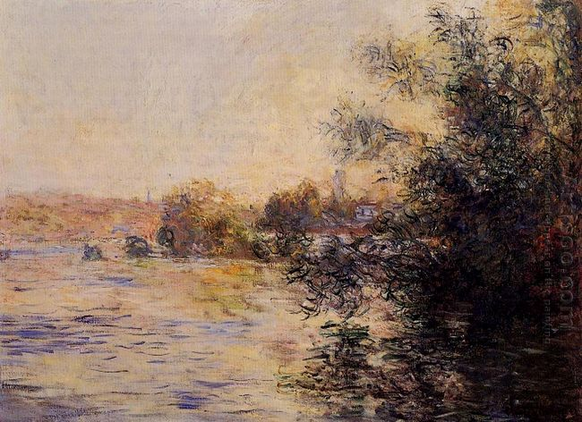 Evening Effect Of The Seine