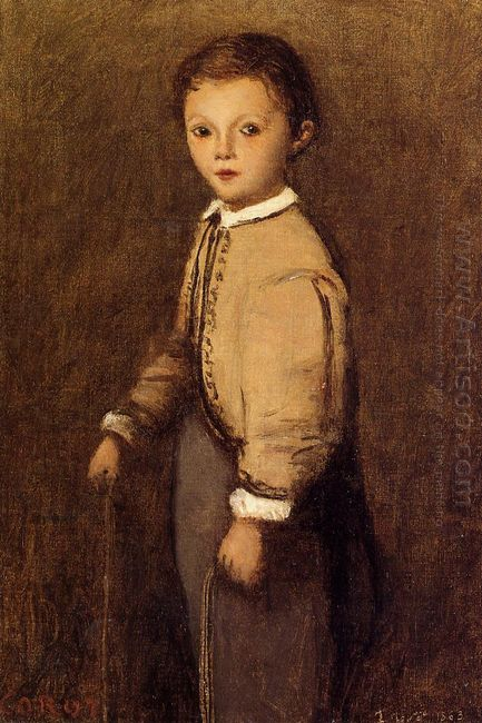 Fernand Corot The Painter S Grand Nephew At The Age Of 4 And A H