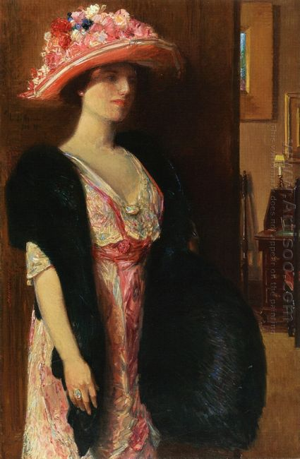 Fire Opals Aka Lady In Furs Portrait Of Mrs Searle