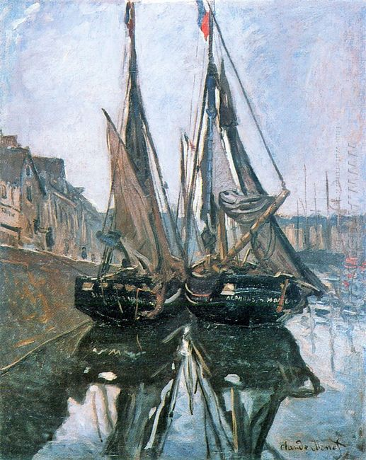 Fishing Boats At Honfleur