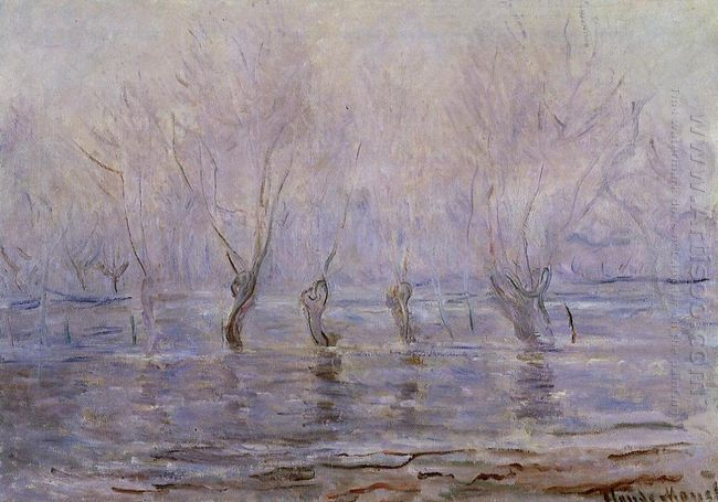 Flood At Giverny 1897