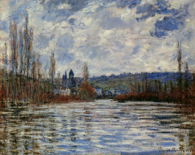 Flood Of The Seine At Vetheuil