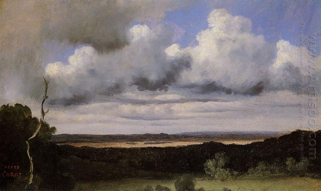 Fontainebleau Storm Over The Plains 1822