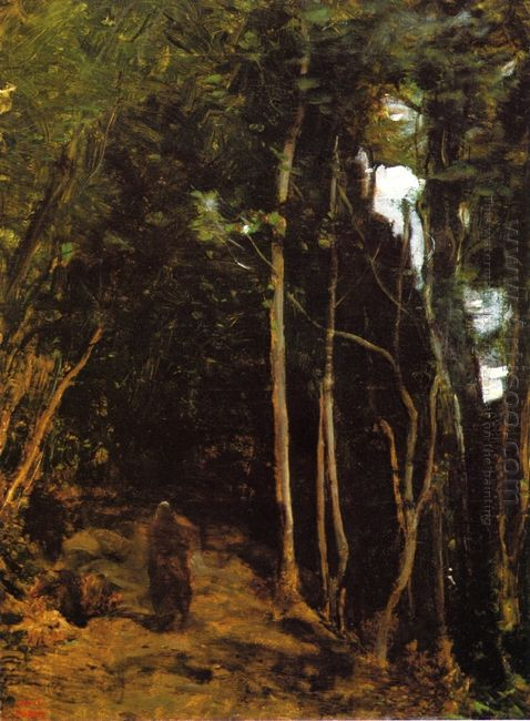Forest In Fontainbleau