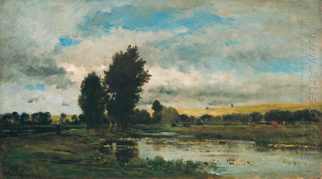 French River Scene 1871