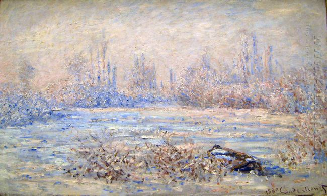 Frost Near Vetheuil 1880