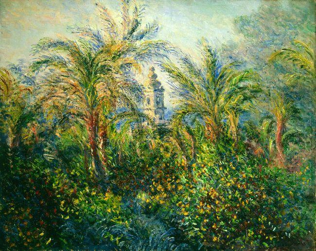 Garden In Bordighera Impression Of Morning 1884