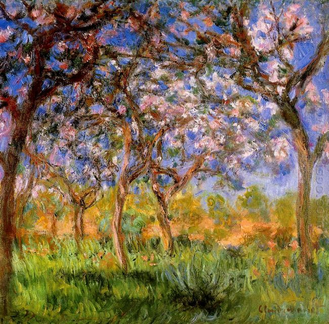 Giverny In Springtime 1900