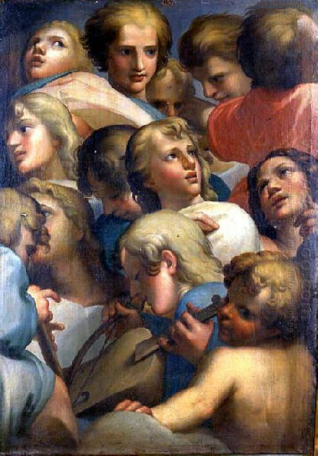 Group Of Angels From Corrège
