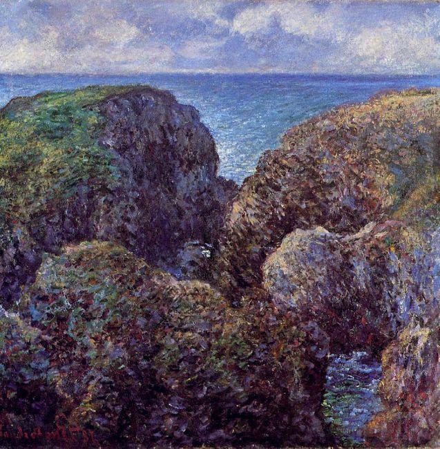 Group Of Rocks At Port Goulphar