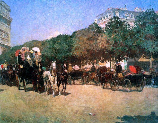 Hassam Childe Grand Prix Day Sun