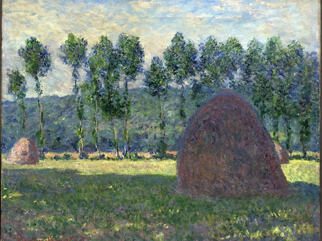 Haystack At Giverny