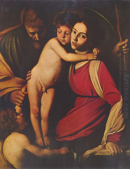 Holy Family With St John The Baptist