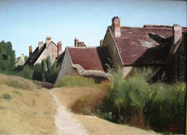 Houses Near Orleans 1830