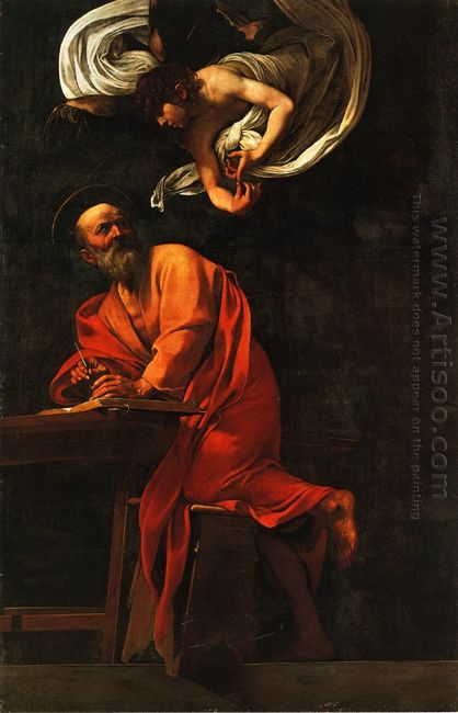 Inspiration Of Saint Matthew 1602 1