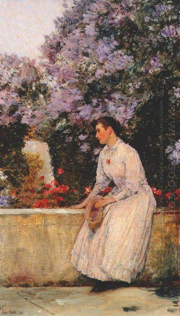 In The Garden 1889 1
