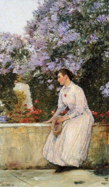 In The Garden 1889