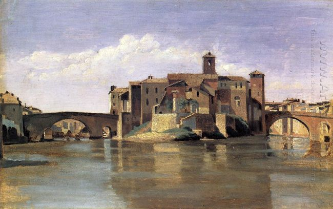 Island Of San Bartolommeo 1828