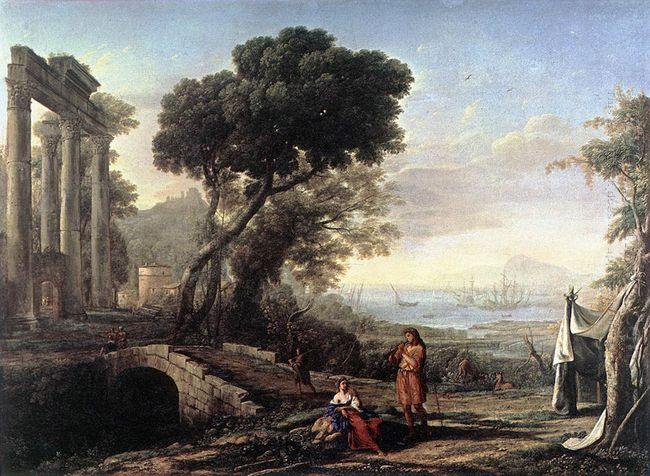 Italian Coastal Landscape 1642