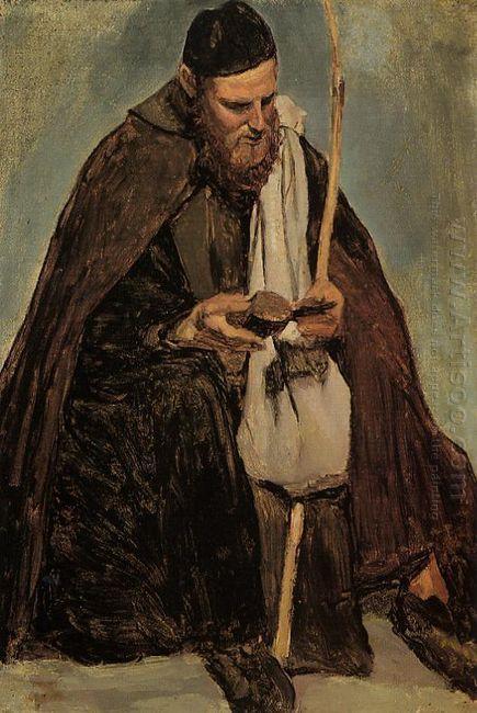 Italian Monk Reading