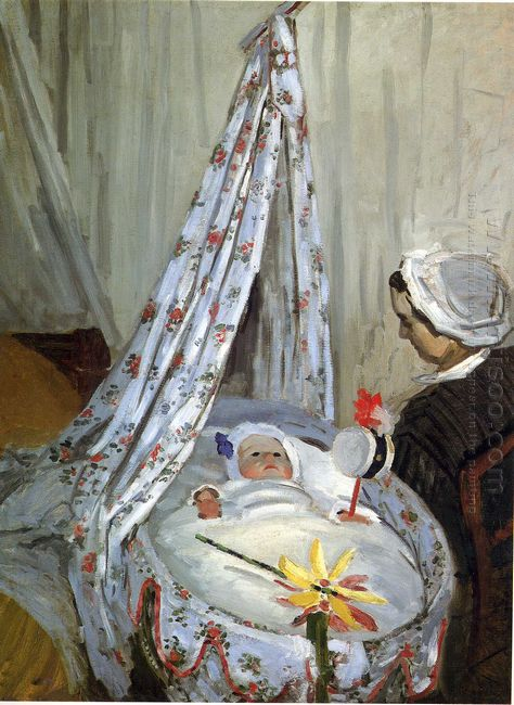 Jean Monet In The Craddle