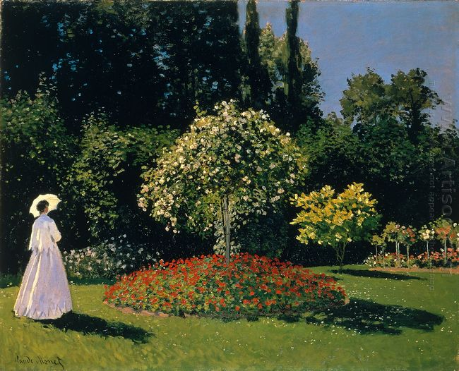 Jeanne Marguerite Lecadre In The Garden