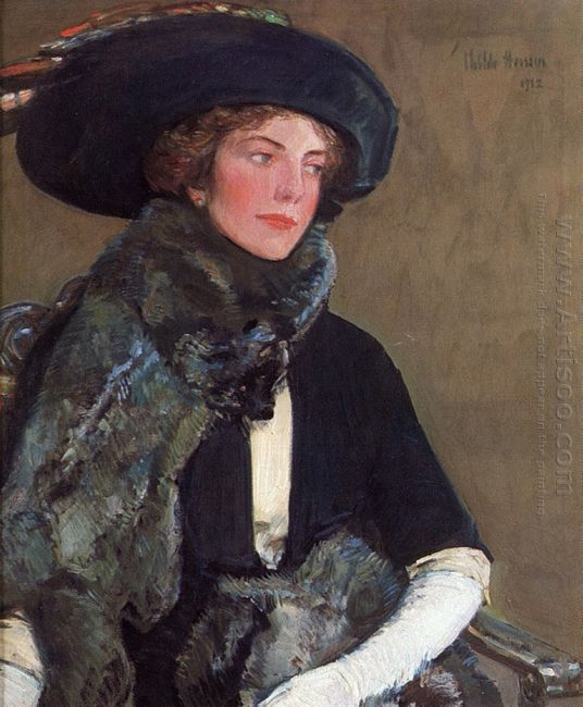 Lady In Furs Aka Mrs Charles A Searles