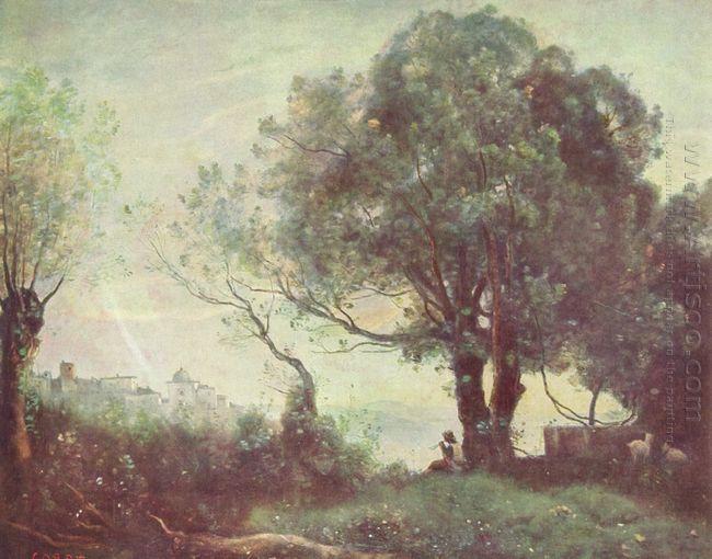 Landscape At Castel Gandolfo