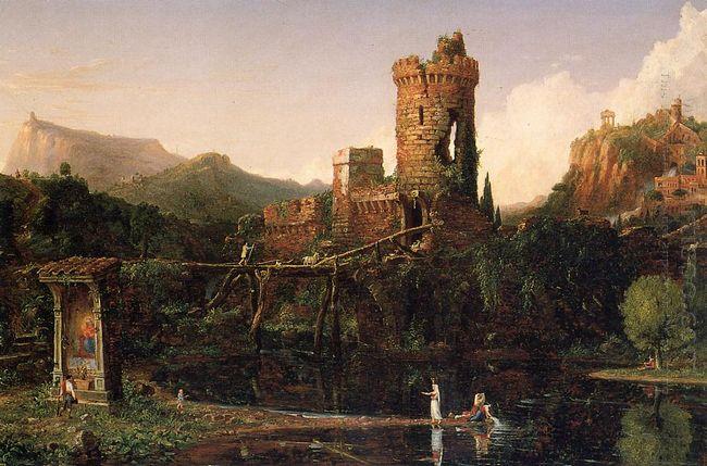 Landscape Composition Italian Scenery 1832