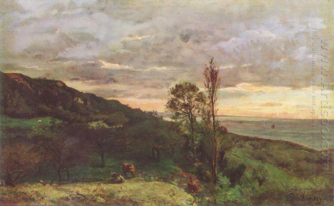 Landscape Near Villerville 1873