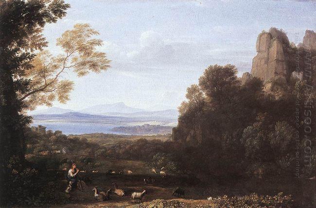 Landscape With Apollo And Mercury 1660
