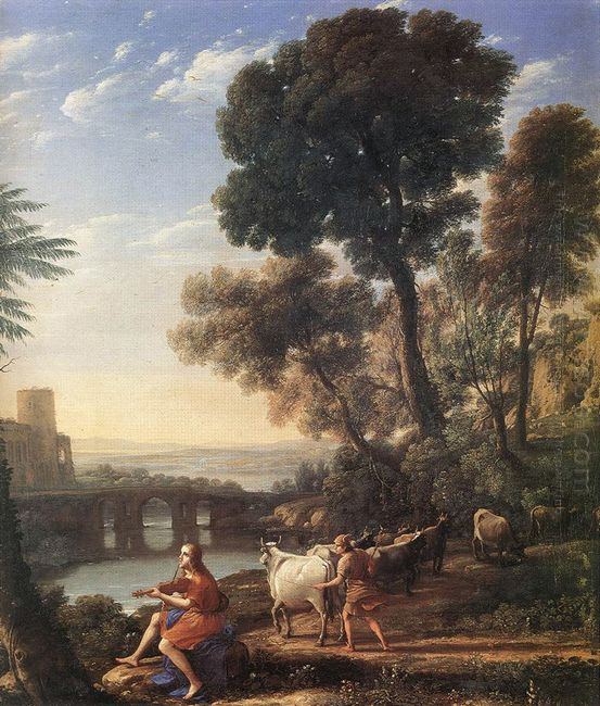Landscape With Apollo Guarding The Herds Of Admetus 1645