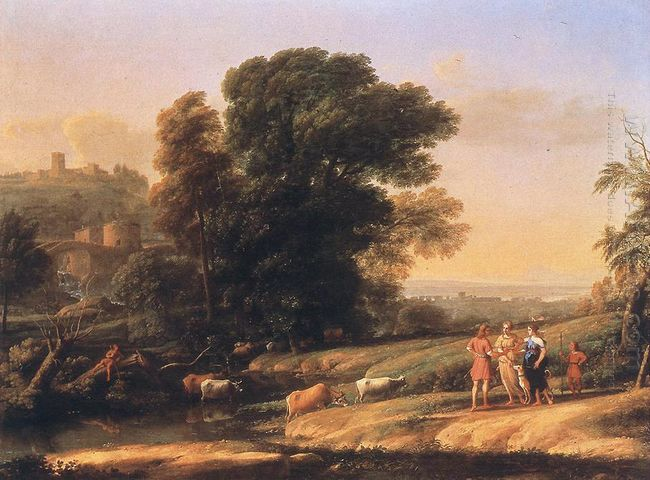 Landscape With Cephalus And Procris Reunited By Diana 1645