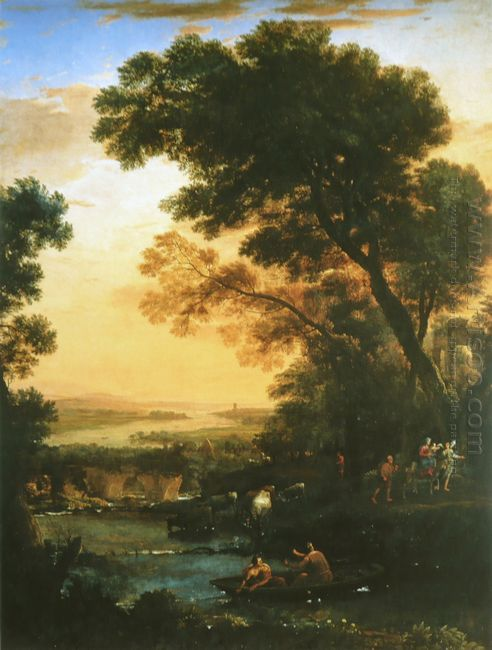 Landscape With Flight Into Egypt 1663