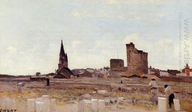 La Rochelle Quarry Near The Port Entrance 1851