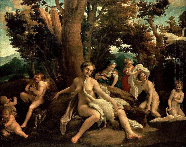 Leda And The Swan 1532