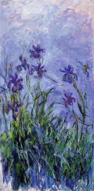 Lilac Irises 1917