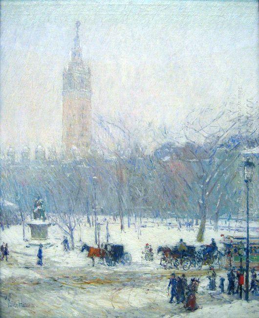 Madison Square Snowstorm
