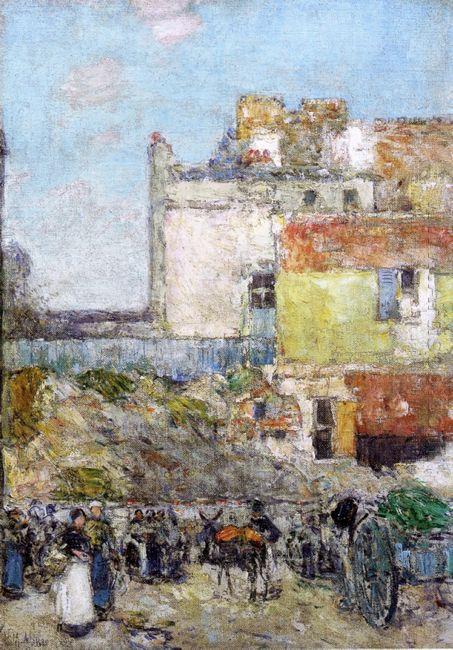 Marche St Pierre Montmartre