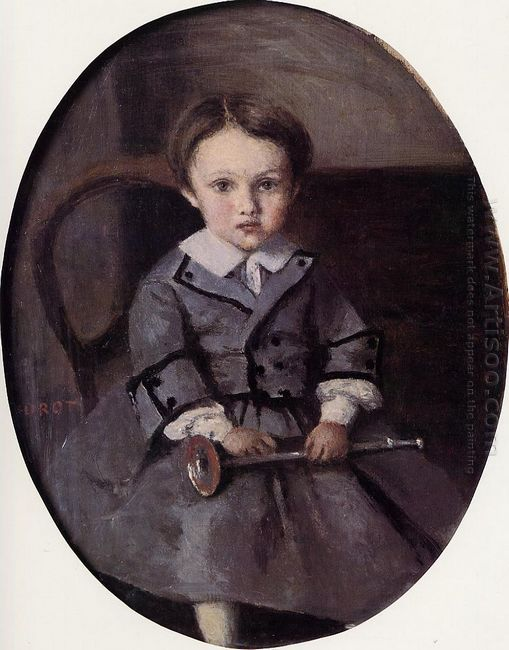 Maurice Robert As A Child 1857