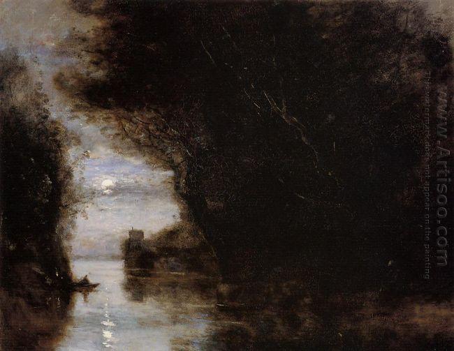 Moonlit Landscape 1874